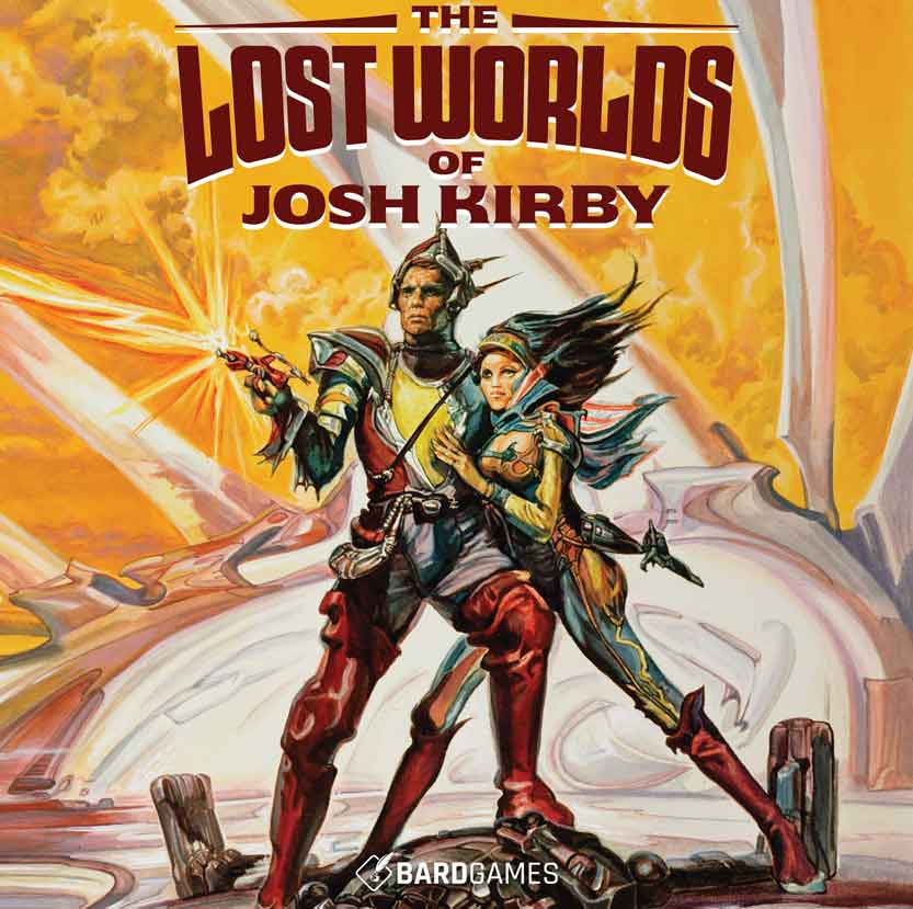 The Lost Worlds of Josh Kirby Box Cover